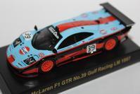 1/64 Kyosho McLaren F1 GTR No.39 Gulf Racing LM 1997 - 1/87 SCHUCO & 1/64 KYOSHO ミニカーコレクション byまさーる