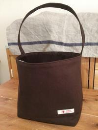 帆布のバケツ型バッグ - *Smile Handmade* ~スマイルハンドメイドのブログ~