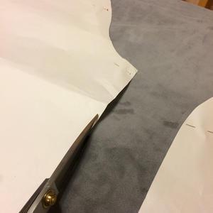 マイクロボンディングのラグランジャケット。裁断〜縫製編! - 手描きイラストハンドメイド。ゆずの木の雑感。