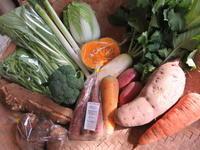 今週と先週の野菜セット11月3週目 - まるみど農園のあれこれ日記