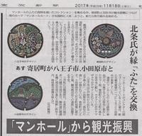 マンホールと梶よう子11月18日(土) - しんちゃんの七輪陶芸、12年の日常
