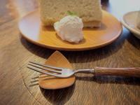 西目屋村産蕎麦粉のシフォンケーキ:カフェ・ルーラル(西目屋村) - 津軽ジェンヌのcafe日記