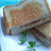 クロックムッシュの朝ごパン - 料理研究家ブログ行長万里  日本全国 美味しい話