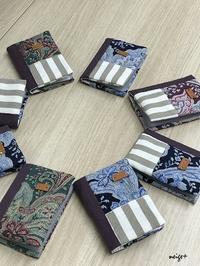 『ヴォーグ学園東京校布小物午後講座』YUWAペイズリー柄のカードケース♪ - neige+ 手作りのある暮らし