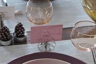シックでキラキラ テーブルセッティングしてみました^^ - bonton blog