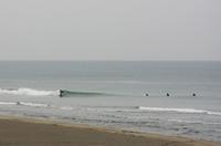 腿前後/波が小さくて数もなくて寒い - ぶん屋の抽斗