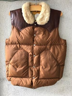 Rocky Mountain Down Vest - TideMark(タイドマーク) Vintage&ImportClothing