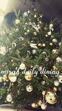 山野楽器クリスマスツリー - miro's daily dining