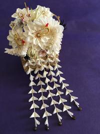 婚礼の簪 - 『かくや』 つまみ細工のアクセサリー