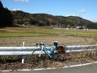 『御前山ダム』一般開放&『藤井川ダム』 - 自転車走行中(じてんしゃそうこうちゅう)