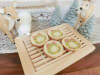 クリスマスリースのデコ食パン - Kay      - from The Sweetest Place On Earth -
