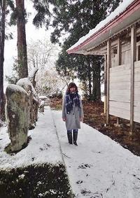 雪のフットパス! - 浦佐地域づくり協議会のブログ
