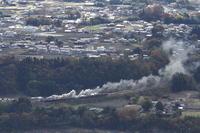 煙が輝く - 上越線・2017年秋 - - ねこの撮った汽車