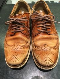 最高の仕上がりを求めて入念な下準備を - ルクアイーレ イセタンメンズスタイル シューケア&リペア工房<紳士靴・婦人靴のケア&修理>