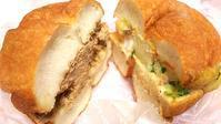 マルイチ  塩ベーグルドーナツのサンド♪ - パンによるパンのための