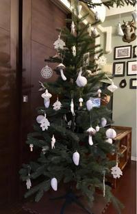 白いクリスマスツリー&ニトリ愛 - まいにちがにちようびー全てが薄っぺらい、いもこの毎日ー