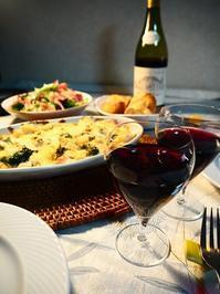 チキンマカロニグラタンとボジョレー・ヌーヴォー - Kitchen diary
