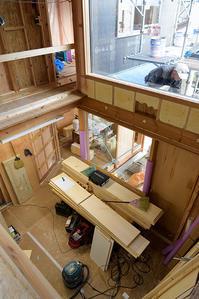 外壁下地と内部造作/越谷の家 - 村田淳建築研究室 つれづれ