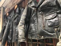 神戸店11/22(水)ヴィンテージ入荷!#5 Leather JKT!1950's D-Pocket MotorCycle JKT !!! - magnets vintage clothing コダワリがある大人の為に。