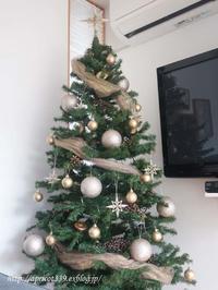 リビングをクリスマス仕様に - シンプルで心地いい暮らし
