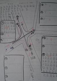 スーパーベイシア付近の交差点・早朝の交通量は - ながいきむら議員のつぶやき(日本共産党長生村議員団ブログ)