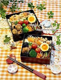 月曜鮭弁当と今日のBLTサンド弁当♪ - ☆Happy time☆