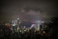 ビクトリアピーク、盧吉道Lugard Road からの夜景 - 香港*芝麻緑豆