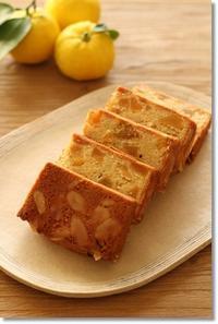 あんずとアーモンドのパウンドケーキ。 - komorebi*