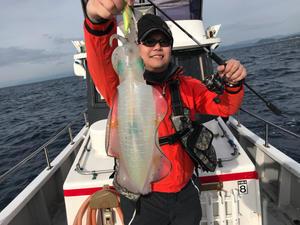 11月22日 ティップラン 便。 - 三重県 志摩沖 エギング ティップラン 釣り船 まると屋