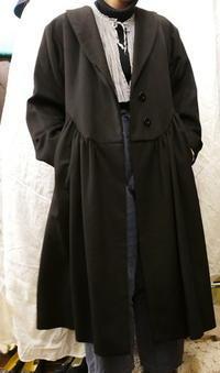 YSL rivegauche coat - carboots