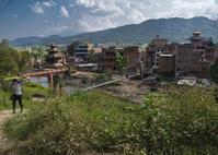 ネパール探訪(バネパ近郊の田舎風景) - 写真の散歩道
