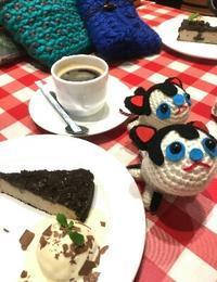 12月16日(土)minamiwaニットカフェ大崎2♪ご参加者さま募集中♪ - 空色テーブル  編み物レッスン&編み物カフェ