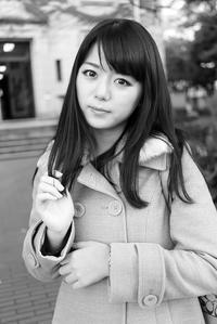 堀川あみちゃん200 - モノクロポートレート写真館
