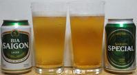 Bia Saigon (SpecialとLager) - ポンポコ研究所(アジアのお酒)