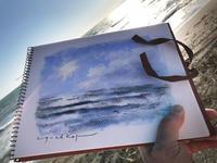 今日のテーマは・・。 - 湘南・鎌倉・海の絵〜画家・亀山和明のblog