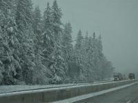雪のモンタナ越え - 続・ふらふらなるままに。