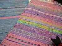 ポップな裂き織り、渡り鳥? - アトリエひなぎく 手織り日記
