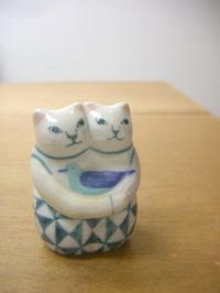 ほたる庵の陶猫たち - 届けられたもの