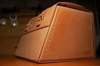 GSリアバッグ受注/製作、再開しています。 HPN用リアバッグの試作サンプル画像とか - stovl leather log