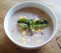 ごはん日記:酵素玄米のお粥で朝ごはん。 - 百笑通信 ブログ版