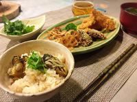 小ぶりな牡蠣で 牡蠣の炊き込みご飯 - Coucou a table!      クク アターブル!