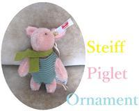 Steiff ::: Piglet Ornament - minca's sweet little things