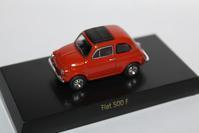 1/64 Kyosho FIAT・LANCIA FIAT 500 F - 1/87 SCHUCO & 1/64 KYOSHO ミニカーコレクション byまさーる