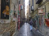 空に舞う洗濯物 (Napoli 4) - エミリアからの便り