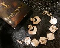 YSL bracelet , earrings - carboots