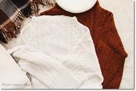 冬に大活躍!のニット入荷♪&12月のOPEN日カレンダー - Ange(アンジュ) - 小林市の雑貨屋 -