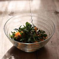 フレッシュ! 柿とクレソンのサラダ - ふみえ食堂  - a table to be full of happiness -