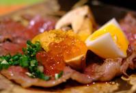 「食堂とだか 肉松茸ウニいくらゆで卵」 - じぶん日記