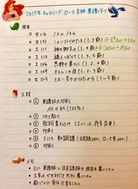 2017/11/28 楽譜作り - めいりんとりっぷ