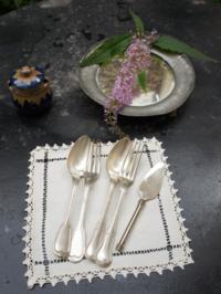 銀食器バターナイフクロス - くらしき絵本館+雑貨室のお仕事つづり